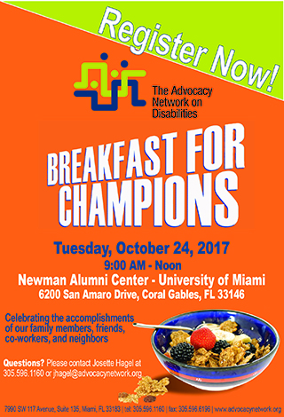Breakfast of Champions 2017 Register Now